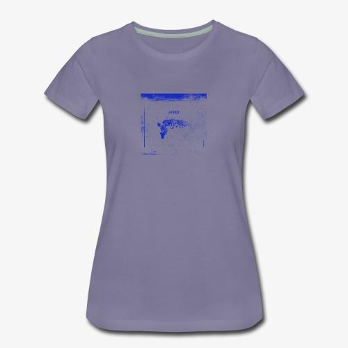 Hyena Blue - Premium-T-shirt dam