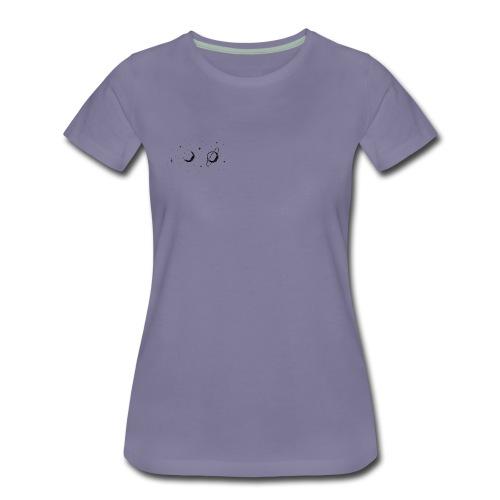 Extra Pixel Weltraum - Frauen Premium T-Shirt