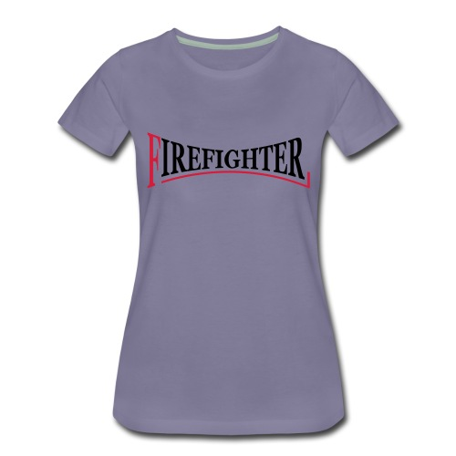 Fire Fighter Logo - Frauen Premium T-Shirt
