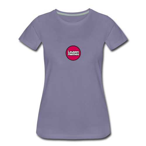 Logo LeuvenMemes - T-shirt Premium Femme