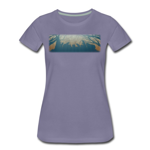 Jyrsijät - väri - Naisten premium t-paita
