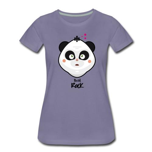 panda rock - T-shirt Premium Femme