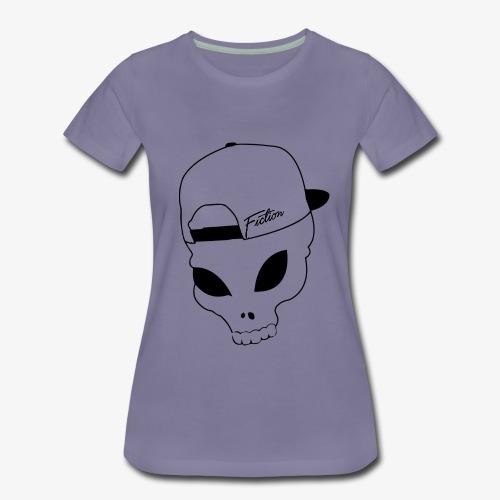 Skull-Alien-Snapback .png T-Shirts - Women's Premium T-Shirt