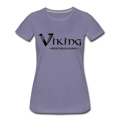 Viking Bodybuilding Font - Frauen Premium T-Shirt