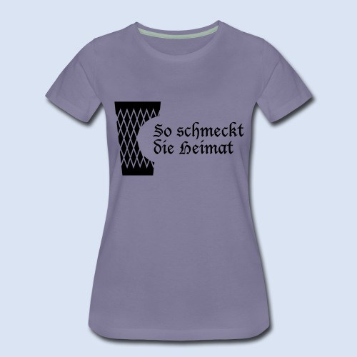 Geripptes mit Biss - Frauen Premium T-Shirt