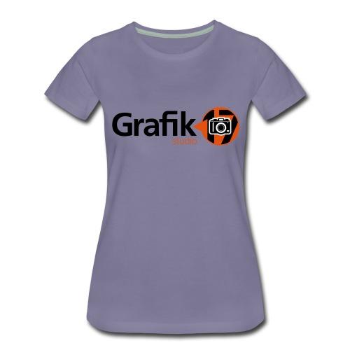 Grafikstudio17_Logo_Color - Frauen Premium T-Shirt