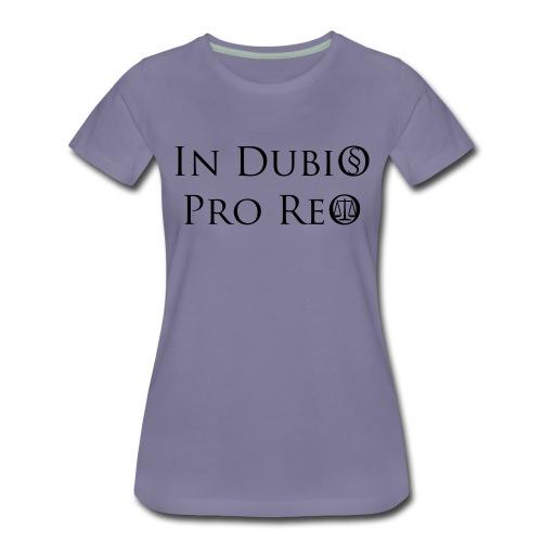 In Dubio pro Reo - Frauen Premium T-Shirt