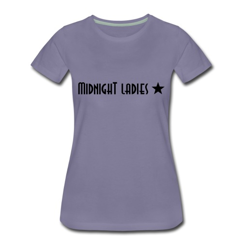 mllogo leggins - Frauen Premium T-Shirt