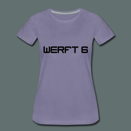 werft6 logo - Frauen Premium T-Shirt