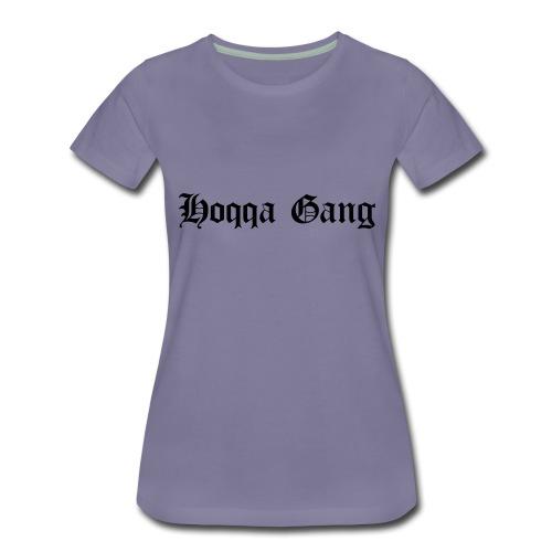 Schriftzug: Hoqqa Gang - Frauen Premium T-Shirt