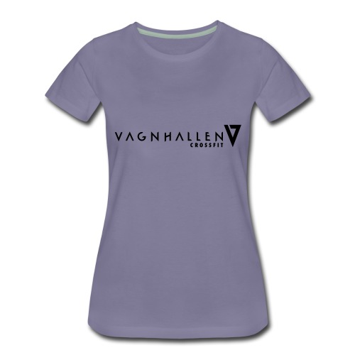 Vagnhallen_logo_ligg - Premium-T-shirt dam