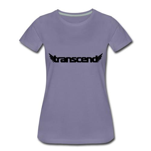 Transcend Bella Tank Top - Women's - White Print - Women's Premium T-Shirt