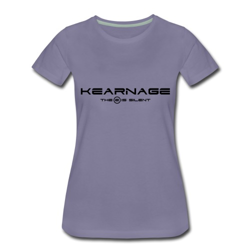 The E Is Silent - Women's Premium T-Shirt