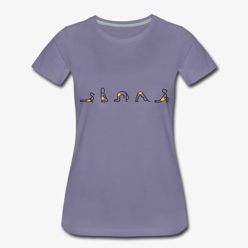 Yoga my Love - Frauen Premium T-Shirt