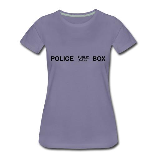 policebox - Frauen Premium T-Shirt