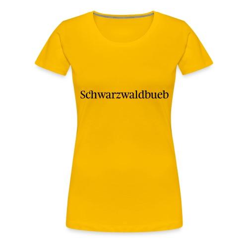 Schwarwaödbueb - T-Shirt - Frauen Premium T-Shirt
