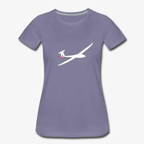Battement cardiaque planeur - T-shirt Premium Femme