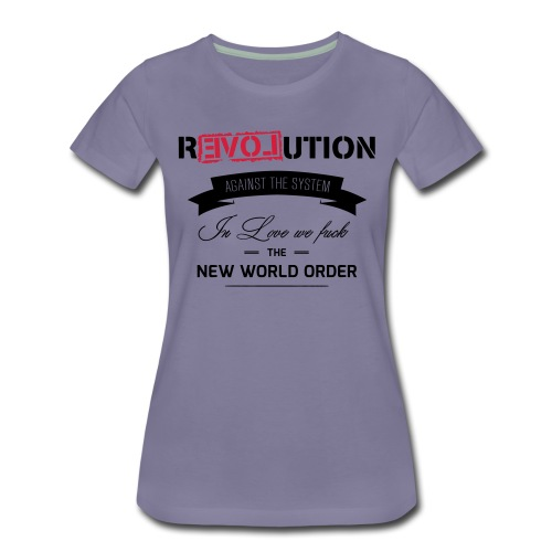 Revolution - Frauen Premium T-Shirt