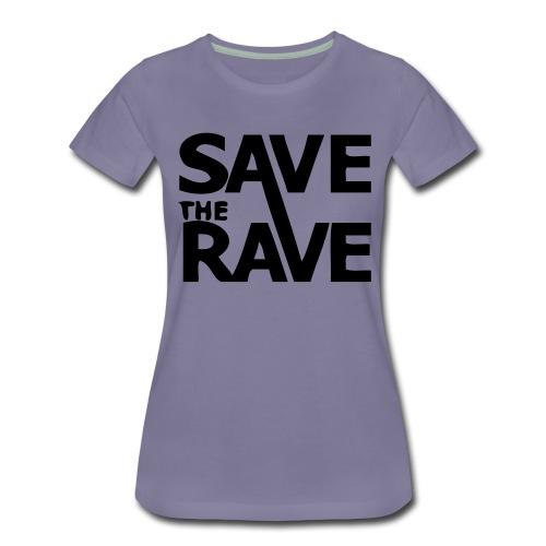 savetheravefantazia - Women's Premium T-Shirt