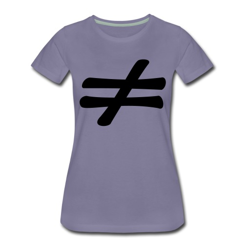 different - T-shirt Premium Femme