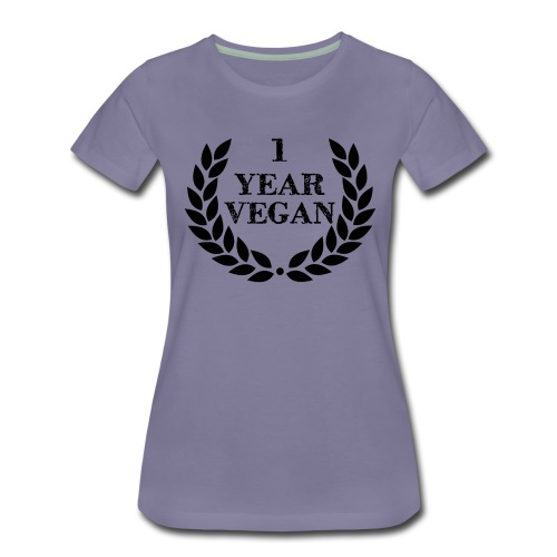 1_year - Women's Premium T-Shirt