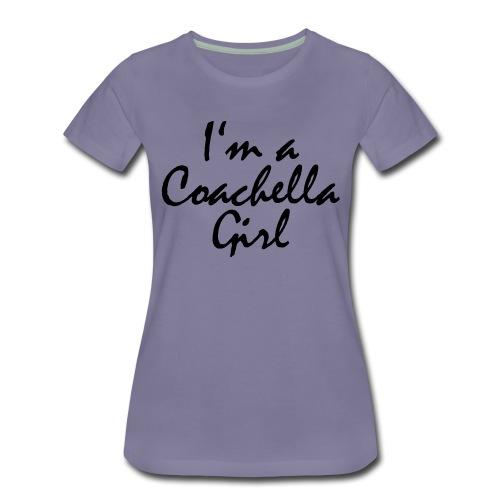Coachella Girl - Frauen Premium T-Shirt