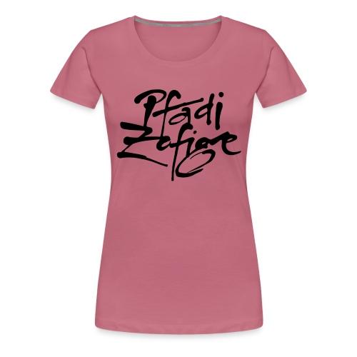 pfadi zofige - Frauen Premium T-Shirt