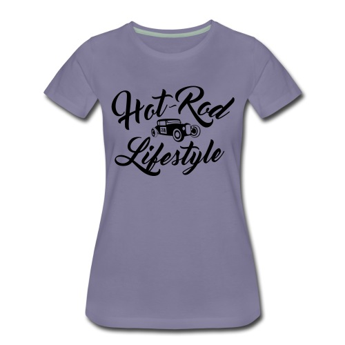 Hot-Rod lifestyle (front&back) - T-shirt Premium Femme