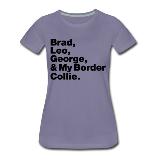 & My Border Collie - T-shirt Premium Femme