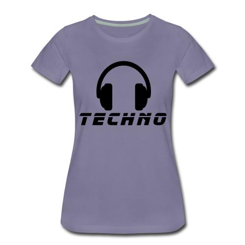 Techno Music - Frauen Premium T-Shirt