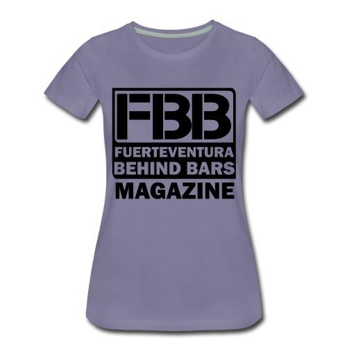 BLACK SIMPLE small logo - Women's Premium T-Shirt