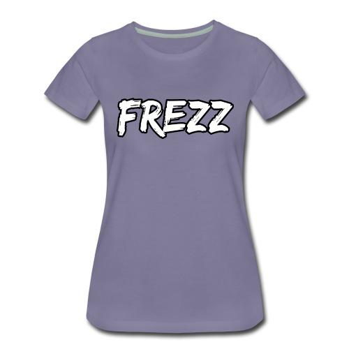 T Shirt FREZZ Noir&Blanc Classique (NOIR) - T-shirt Premium Femme