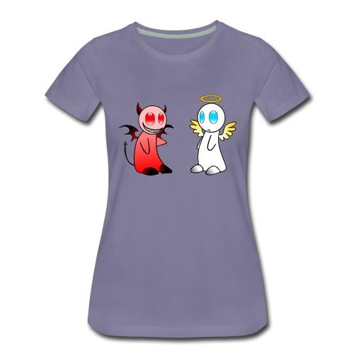 Teuferl-Engerl - Frauen Premium T-Shirt