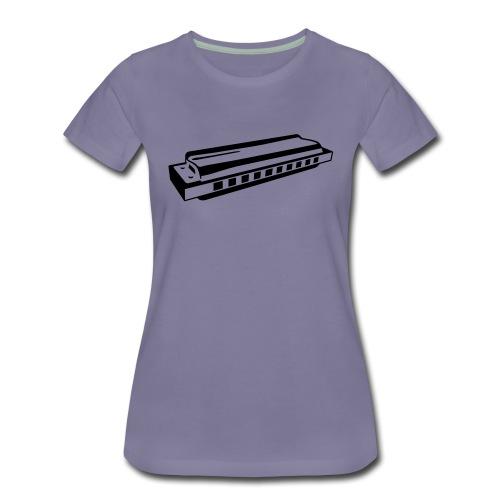 Harmonica - Women's Premium T-Shirt