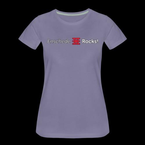 Enschede Rocks Logo - W - Vrouwen Premium T-shirt