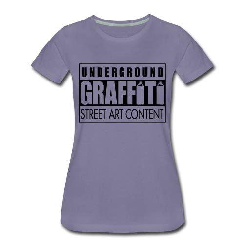 Underground graffiti flex - T-shirt Premium Femme