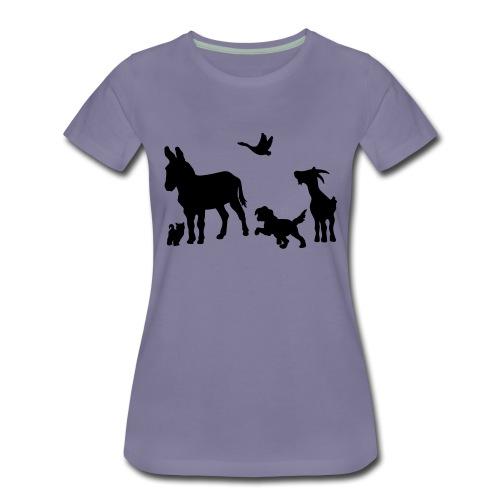 Logo - Tiere im Einklang - Frauen Premium T-Shirt