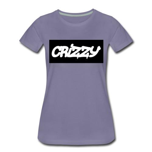 Hettegenser med logo v3 (begge) - Premium T-skjorte for kvinner