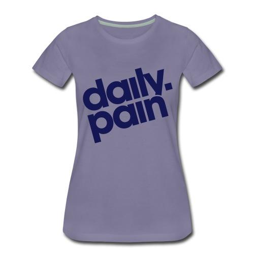 daily pain classic - Koszulka damska Premium