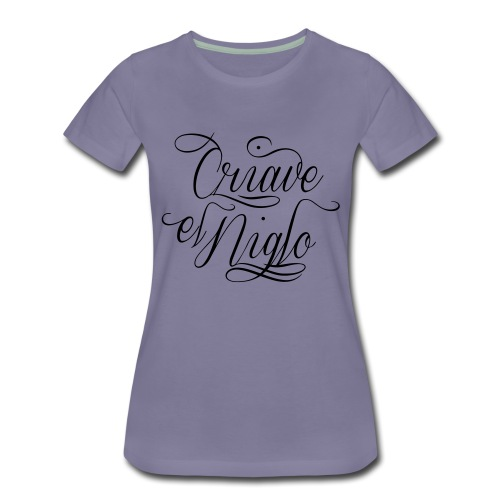 Chicano Letter - T-shirt Premium Femme