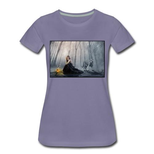 Perdido en el bosqu - Camiseta premium mujer