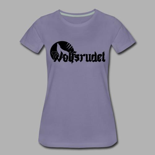 Logo Wolfsrudel EPS - Frauen Premium T-Shirt