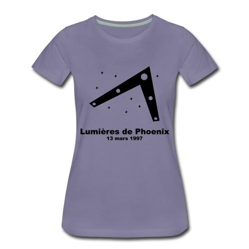 OVNI Lumieres de Phoenix - T-shirt Premium Femme