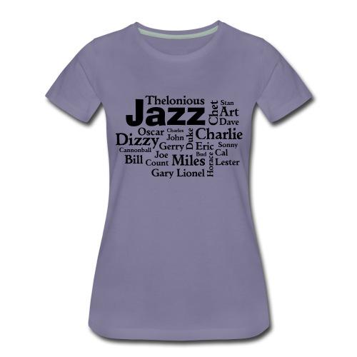 Jazz Greats - Frauen Premium T-Shirt