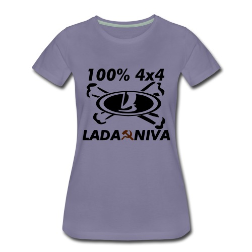 100 pro 4x4 - Frauen Premium T-Shirt