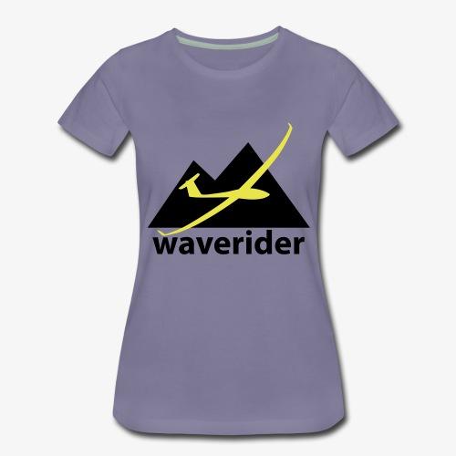 soaring-tv: waverider - Frauen Premium T-Shirt