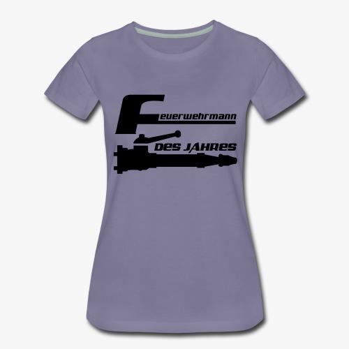 Feuerwehrmann des Jahres - Frauen Premium T-Shirt