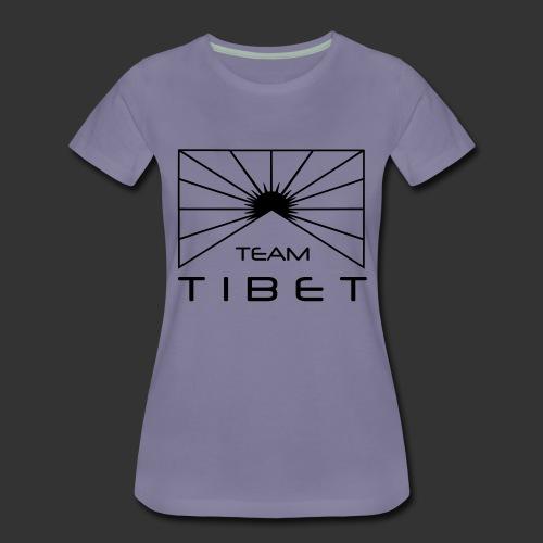 Team Tibet - Frauen Premium T-Shirt