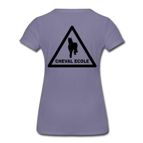 chevalecoletshirt - Frauen Premium T-Shirt