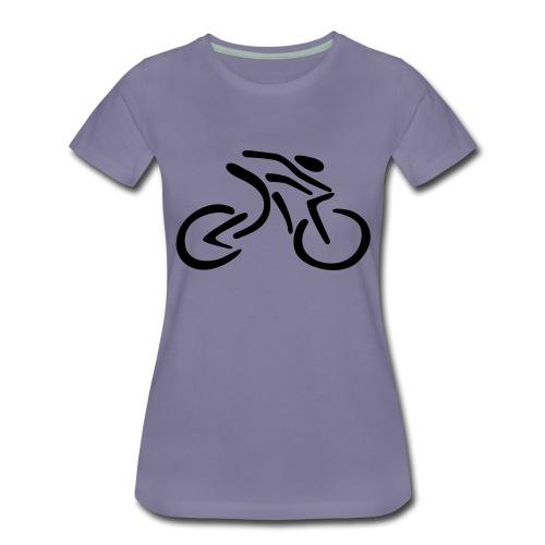 fietsen - Vrouwen Premium T-shirt